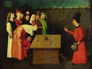 The Conjuror (Pre-Restoration) by Hieronymus Bosch