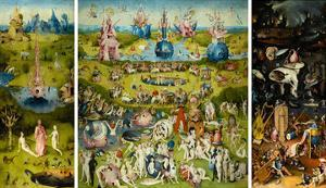 The Garden of Earthly Delights, 1490-1510 by Hieronymus Bosch