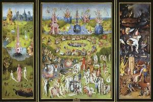 The Garden of Earthly Delights, 1500S by Hieronymus Bosch