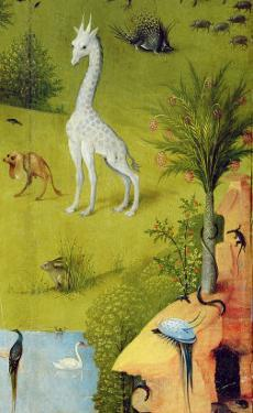 The Garden of Earthly Delights, c.1500 by Hieronymus Bosch