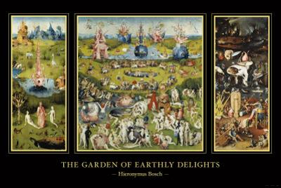 The Garden of Earthly Delights, c.1504 by Hieronymus Bosch