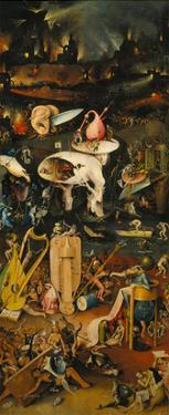 The Garden of Earthly Delights. Right Panel of the Triptych: Hell by Hieronymus Bosch