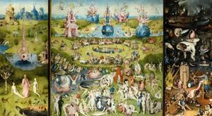 The Garden of Earthly Delights by Hieronymus Bosch