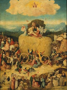 The Haywain (Triptyc) Central Panel, C. 1516 by Hieronymus Bosch