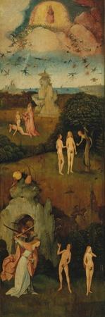 The Haywain (Triptyc) Left Panel, C. 1516 by Hieronymus Bosch