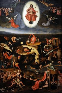 The Last Judgement, 1540 by Hieronymus Bosch