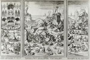 The Last Judgement, Late 15th Early 16th Century by Hieronymus Bosch