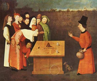 Hieronymus Bosch (The magician) Art Poster Print