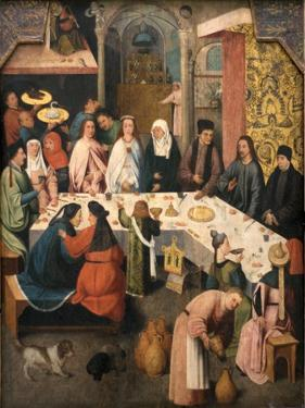The Marriage Feast at Cana, Ca 1550-1565 by Hieronymus Bosch