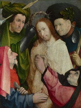 The Mocking of Christ, C. 1500 by Hieronymus Bosch
