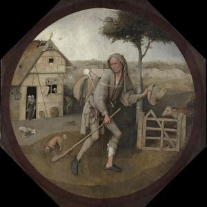 The Peddler by Hieronymus Bosch