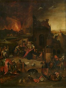 The Temptation of Saint Anthony, 16th Century by Hieronymus Bosch