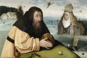 The Temptation of Saint Anthony, Between 1500 and 1510 by Hieronymus Bosch