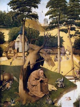 The Temptation of St by Hieronymus Bosch