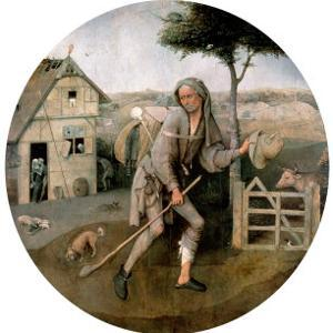 The Vagabond, The Prodigal Son by Hieronymus Bosch