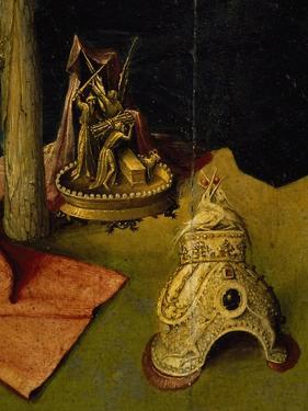 Tiara and Golden Sculpture Depicting the Sacrifice of Isaac by Hieronymus Bosch