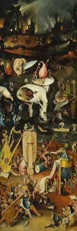 Triptych of the Garden of Earthly Delights, Right-Hand Panel with Hell