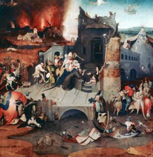 Triptych of the Temptation of St Anthony, C1480-1516 by Hieronymus Bosch
