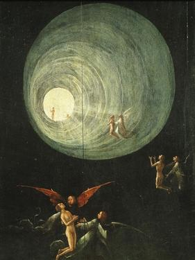 Tunnel of Light, from Paradise (Detail) by Hieronymus Bosch