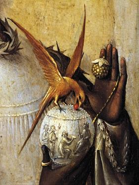 Vase Surmounted by Bird, Detail from Adoration of the Magi, 1510 by Hieronymus Bosch