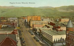 Higgins Avenue, Missoula, Montana