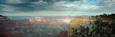 High Angle View of a Canyon, Angel's Window, North Rim, Grand Canyon National Park, Arizona, USA