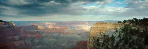 High Angle View of a Canyon, Angel's Window, North Rim, Grand Canyon National Park, Arizona, USA