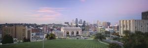 High Angle View of a City, Kansas City, Missouri, USA