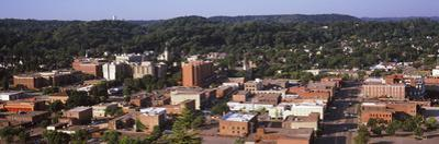High angle view of a city, Red Wing, Minnesota, USA