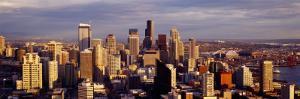 High Angle View of a City, Seattle, Washington