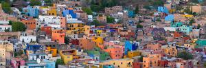 High Angle View of Buildings in a City, Guanajuato, Mexico