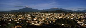 High Angle View of Cholula, Puebla State, Mexico