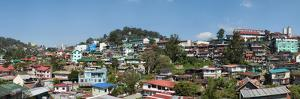 High angle view of cityscape, Baguio City, Benguet, Luzon, Philippines