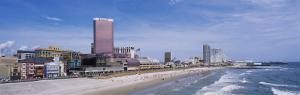 High Angle View of the Beach, Atlantic City, New Jersey, USA