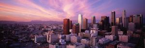 High Angle View of the City, Los Angeles, California, USA