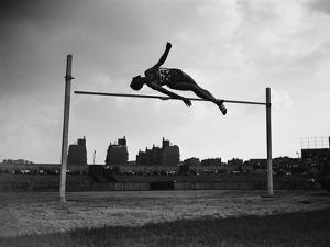 High Jump Championship in Colombes, 1952