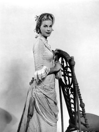 HIGH NOON, 1952 directed by FRED ZINNEMANN Grace Kelly (b/w photo)