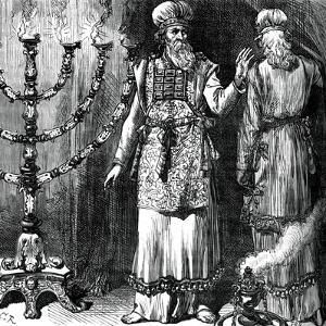 High Priests, Showing the Ephod and Linen Robes