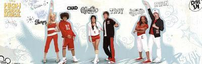 High School Musical Movie (Group, Dive In) Poster Print