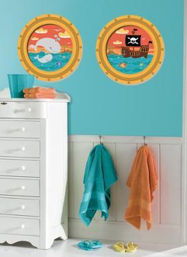 High Seas Peel & Stick Window Wall Decal