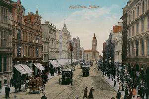 High Street, Belfast, Northern Ireland