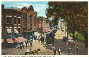 High Street, Westerly, Rhode Island