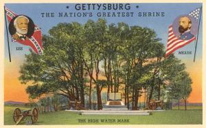 High Water Mark, Gettysburg, Pennsylvania