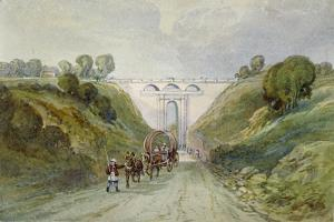 Highgate Archway Viaduct, London, C1820