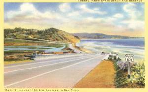 Highway 101 in Southern California, Torrey Pines