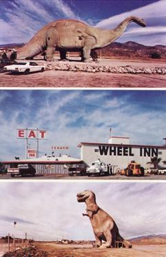 Highway Attractions, Dinosaurs, Retro
