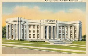 Highway Department Building, Montgomery, Alabama