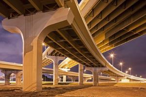 Highway Overpasses, Tampa, Florida