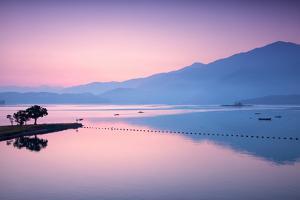Sun Moon Lake ,Sunrise by higrace photo