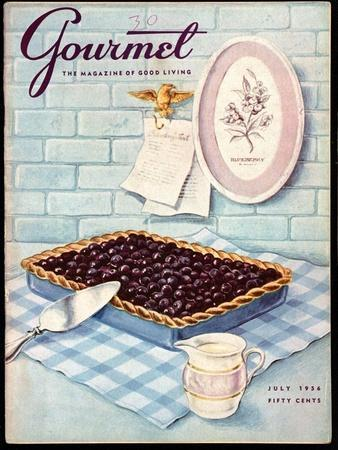 Gourmet Cover - July 1956